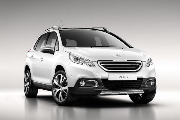 Peugeot 2008 White