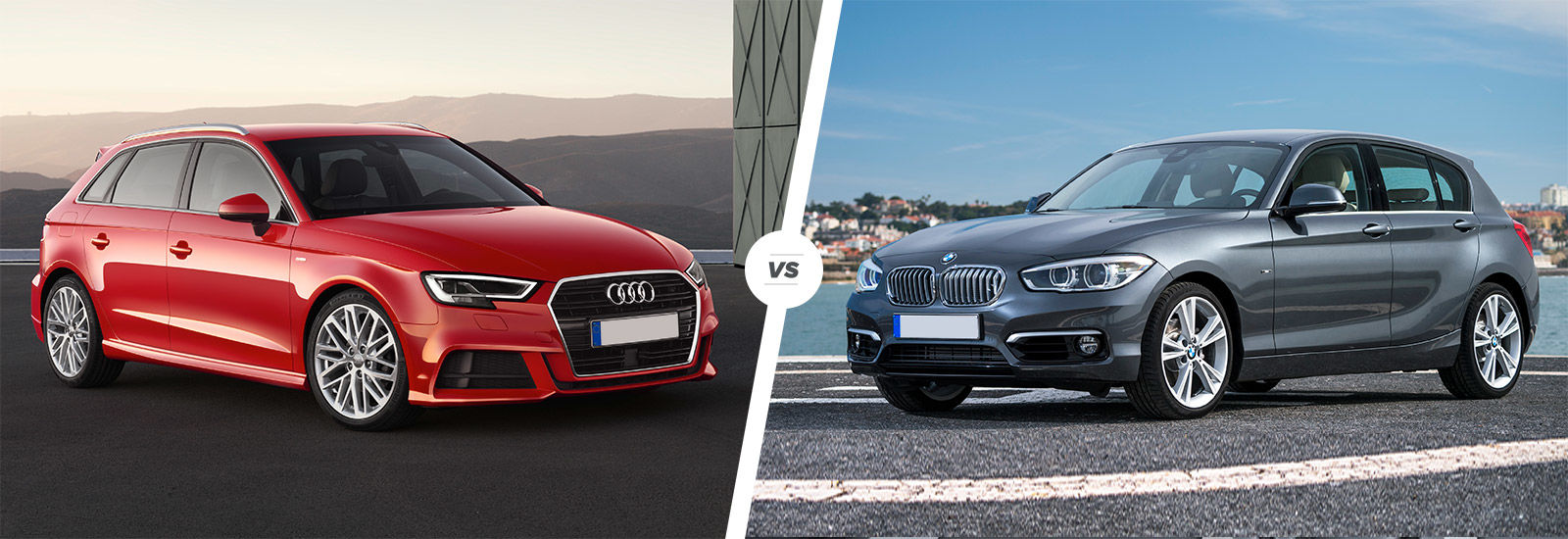 Audi a3 vs bmw 1 series hatchback comparison carwow