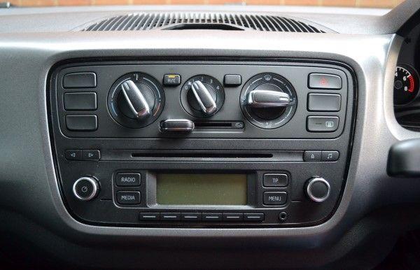 Skoda Citigo Sport console