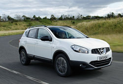 Nissan qashqai 360 front white
