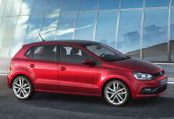 New volkswagen polo 2014 red main