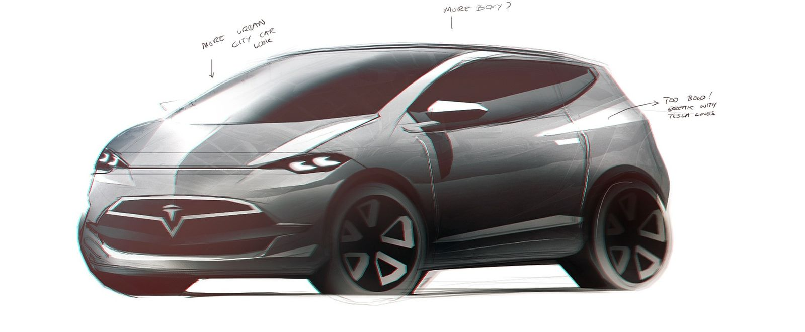 2016 Tesla Model C city car: design sketches | carwow