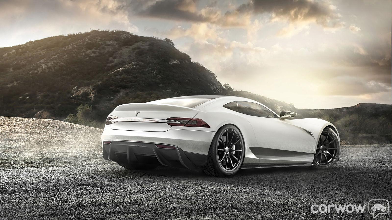 2016 Tesla Model R Hypercar Concept Design Sketches Carwow