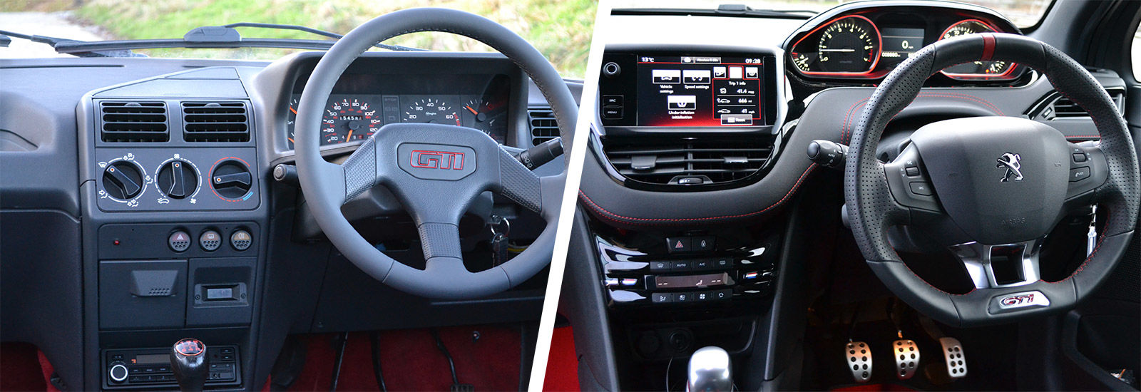 Peugeot 205 Gti 1 9 Vs 208 Gti Old Vs New Carwow