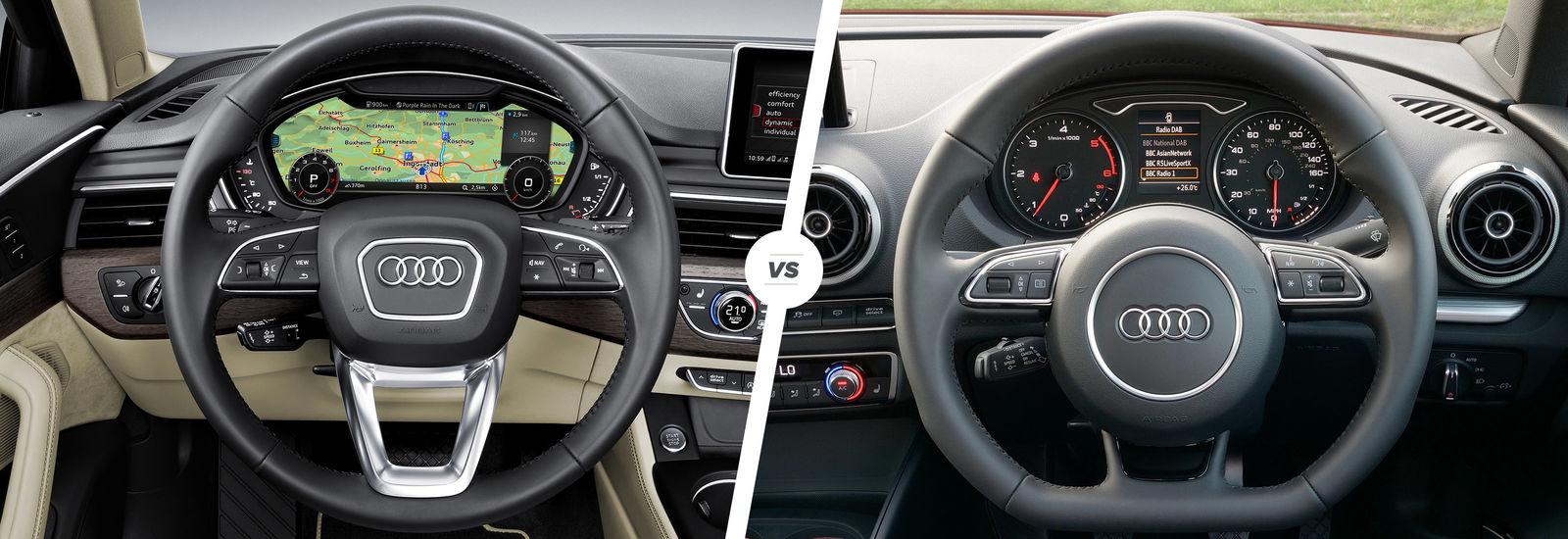 Audi A4 vs A3 Saloon sibling showdown