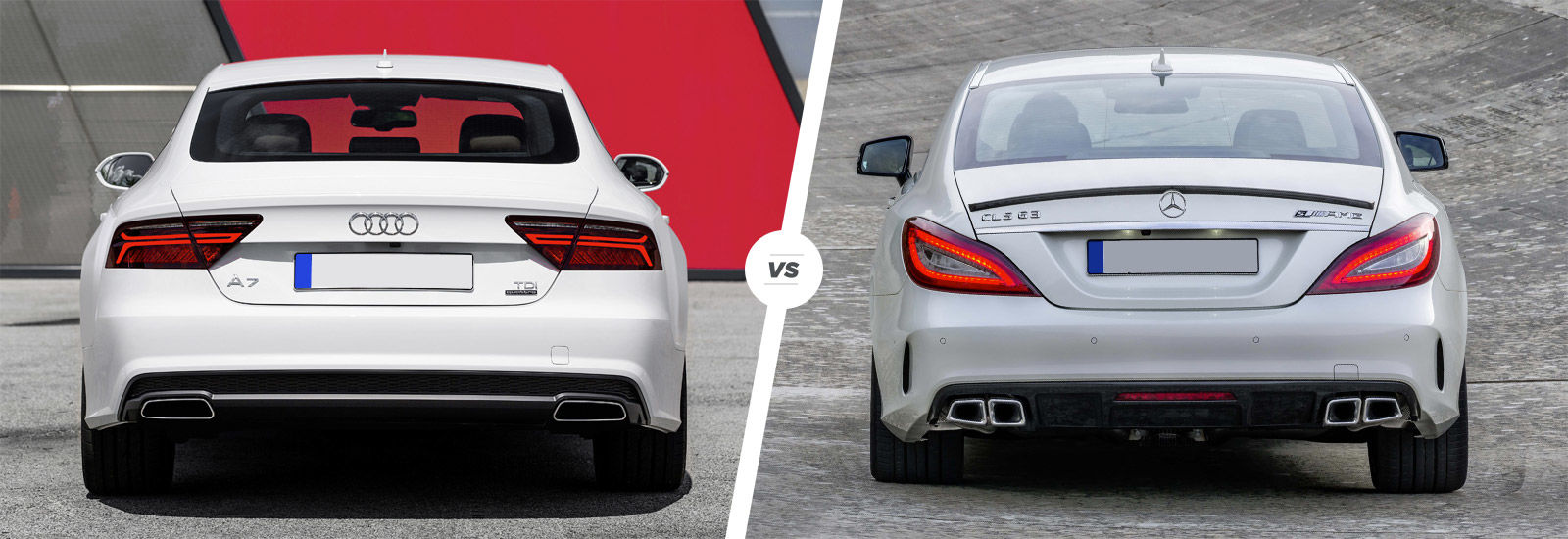 Audi A7 vs Mercedes CLS comparison | carwow