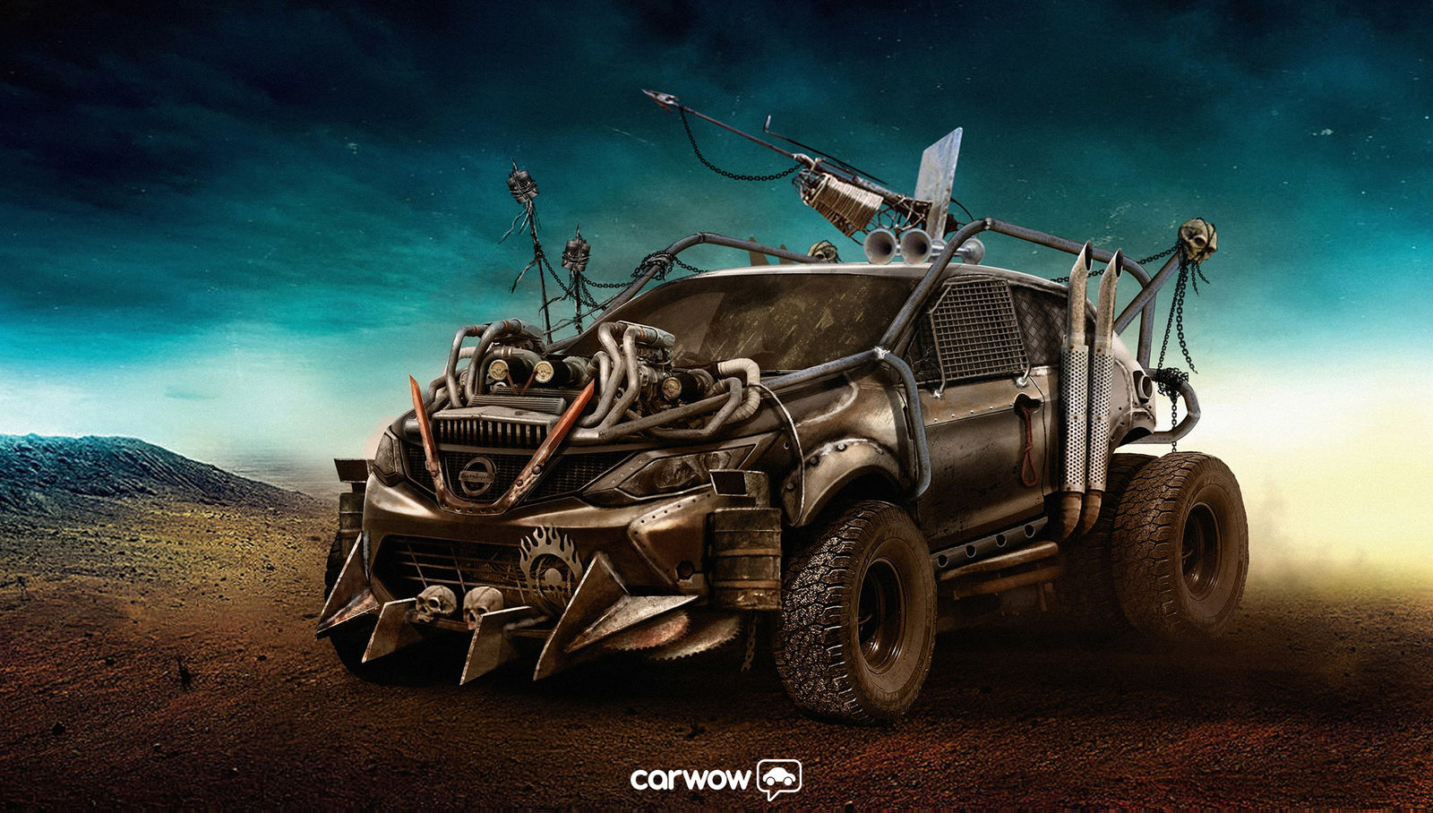 Road Trucks For Sale Autos Post Mad Max Fury Road – the UK car version | carwow