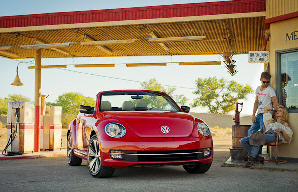 New Beetle Cabriolet Red