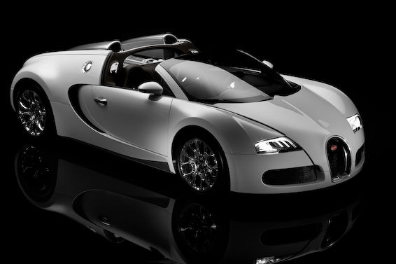 Veyron Grand Sport White