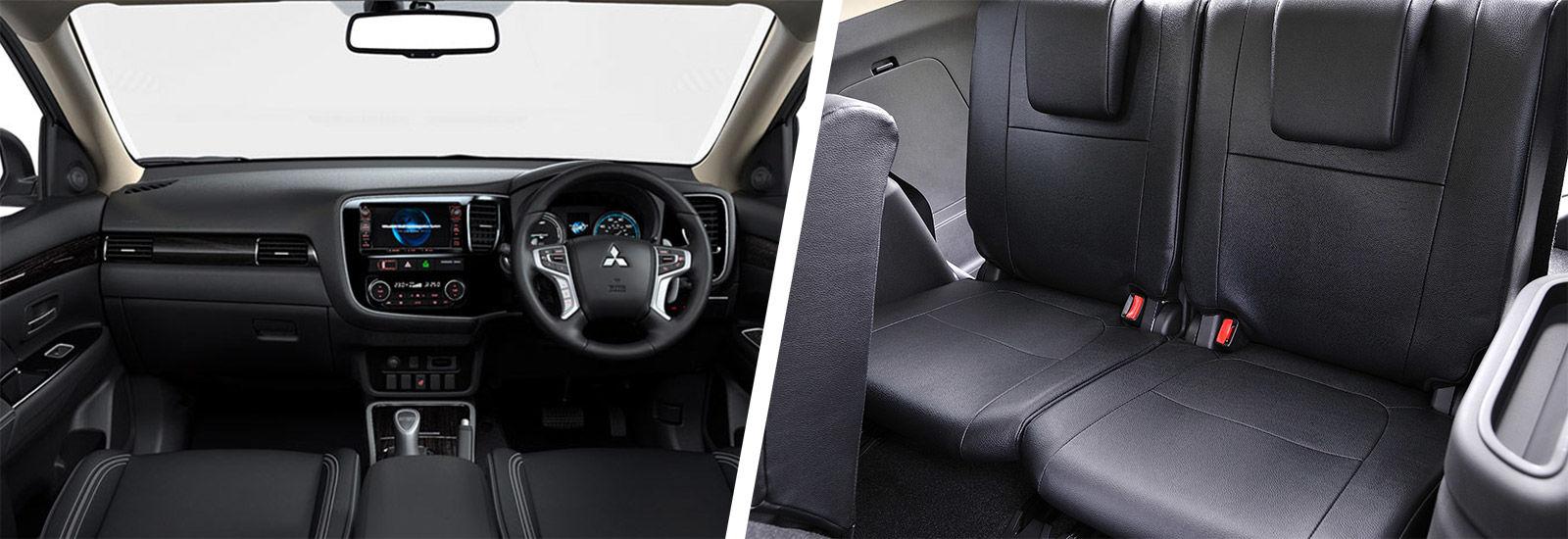 Mitsubishi Outlander Phev Sizes Dimensions Carwow