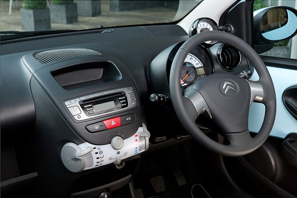 Citroen C1 interior facelift