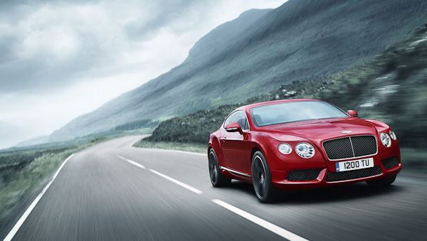 Continental GT V8 red