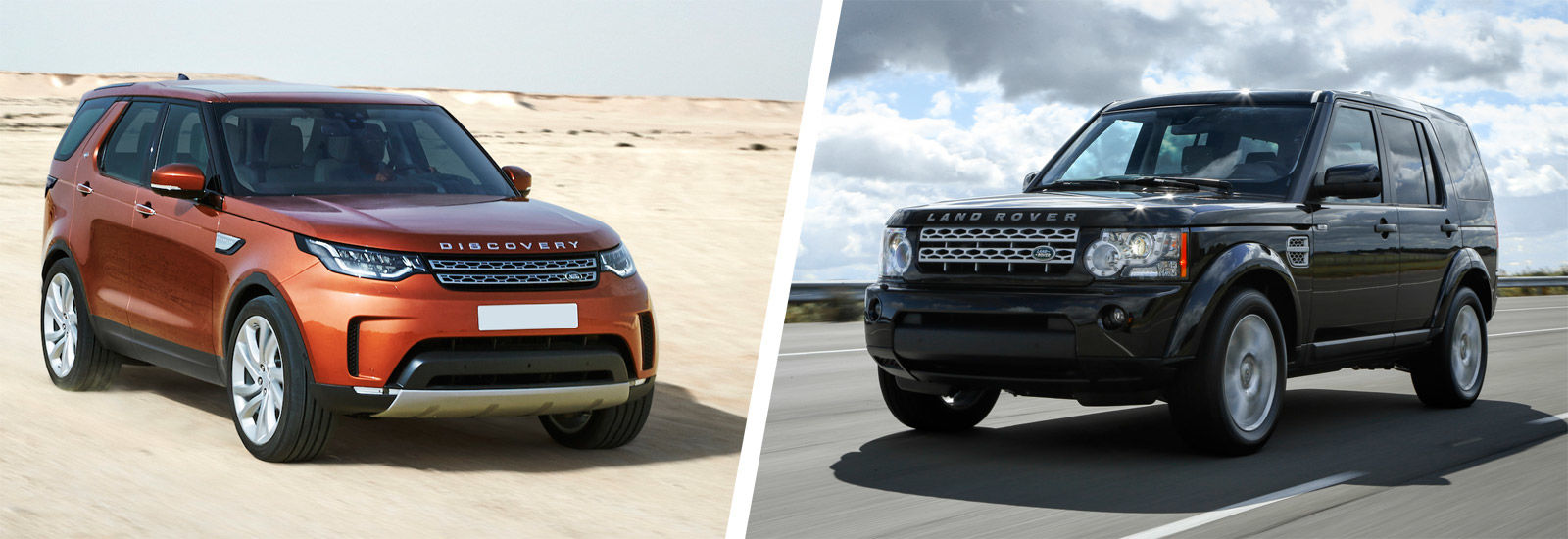 land rover discovery 5 vs discovery 4 old vs new carwow. Black Bedroom Furniture Sets. Home Design Ideas