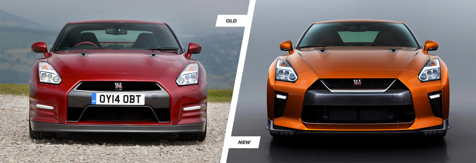 Nissan GT R Old Vs New Styling