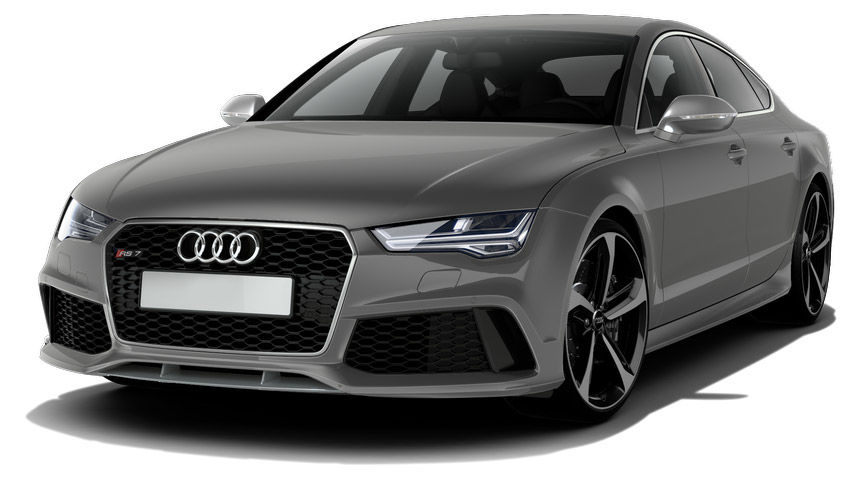 Audi a7 and rs7 colours guide and prices carwow for Nardo grey paint cost