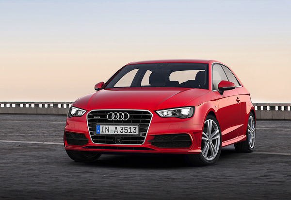 2012 Audi A3 red
