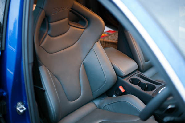 RS4 Sport seats