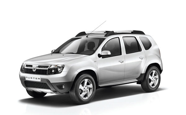 Renault Dacia Duster Front