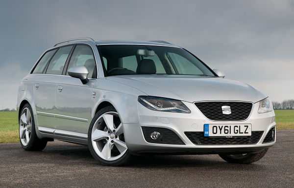 SEAT Exeo ST 2012 Facelift