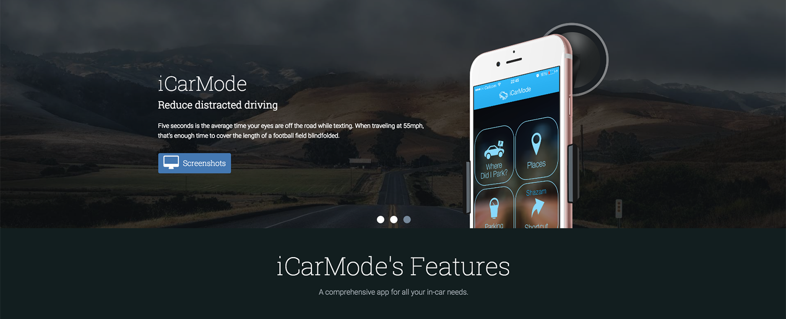 Icarmode best apps for drivers