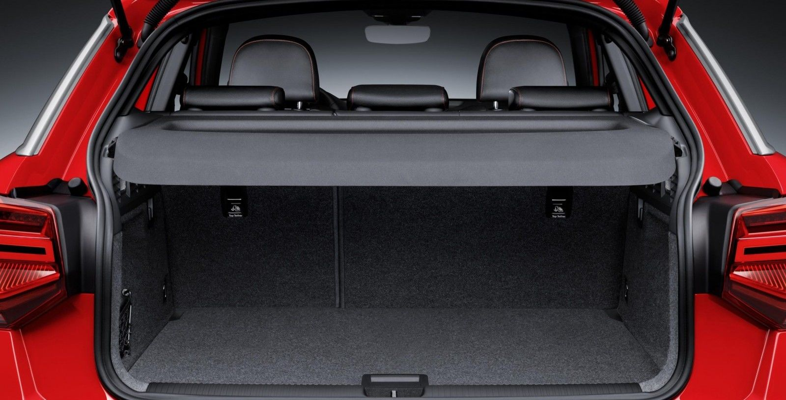 Audi q3 boot dimensions