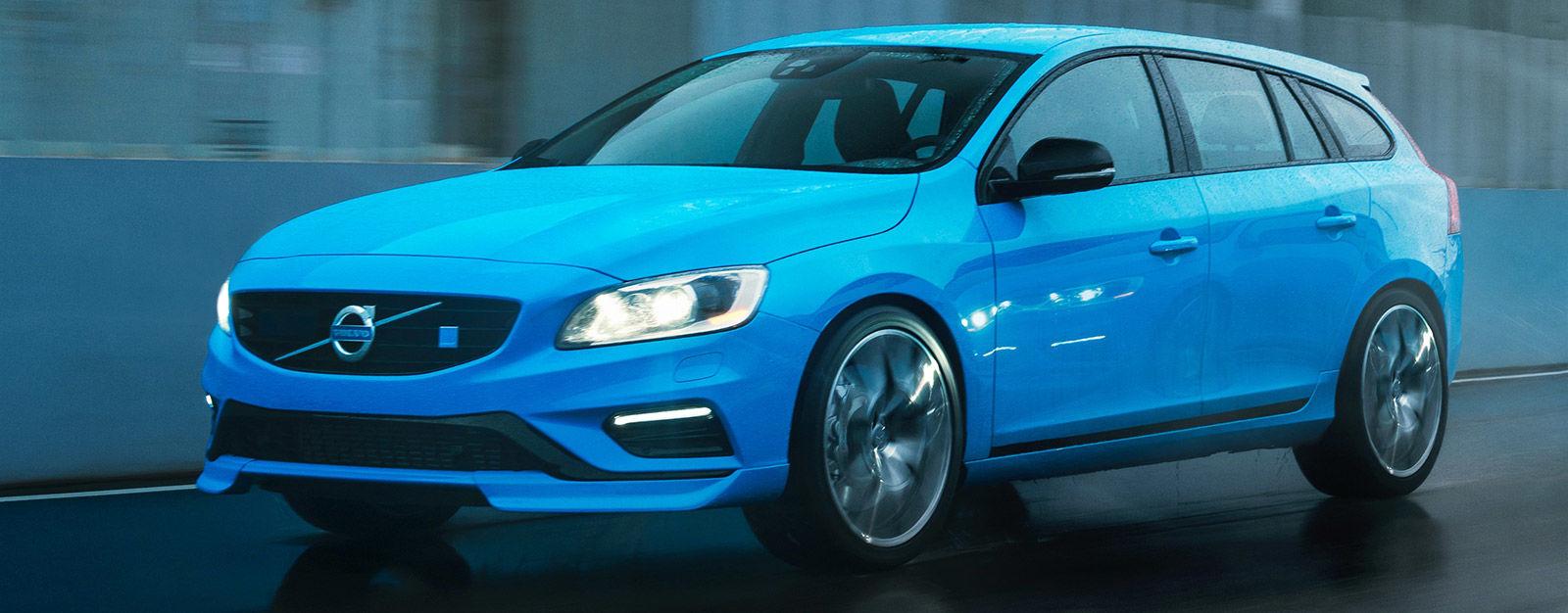 Colour car metallic - Volvo V60 Polestar Rebel Blue