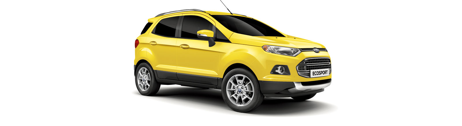 This Is The Only Free Colour For The Ecosport And Its A Pretty Bright Lemon That Will Certainly Stand Out But May Not Be To Everyones Tastes