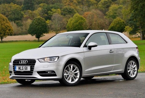 Audi A3 front angle