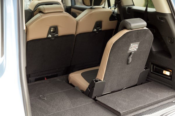 Citroen Picasso rear seat boot