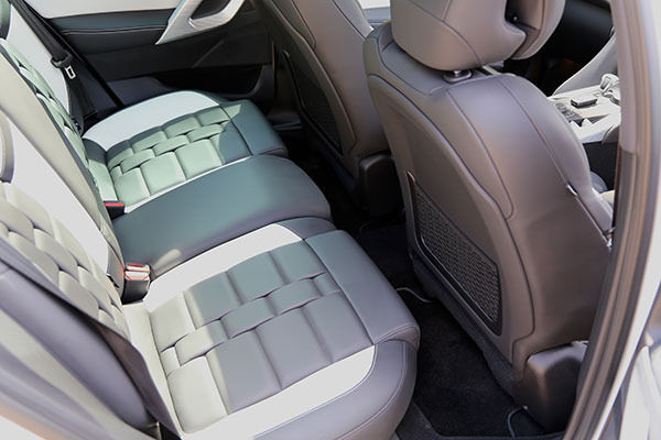 Citroen DS5 Rear Seats