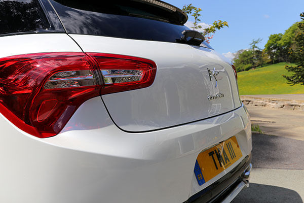 Citroen DS5 Rear Closeup