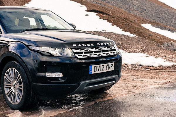 Evoque closeup