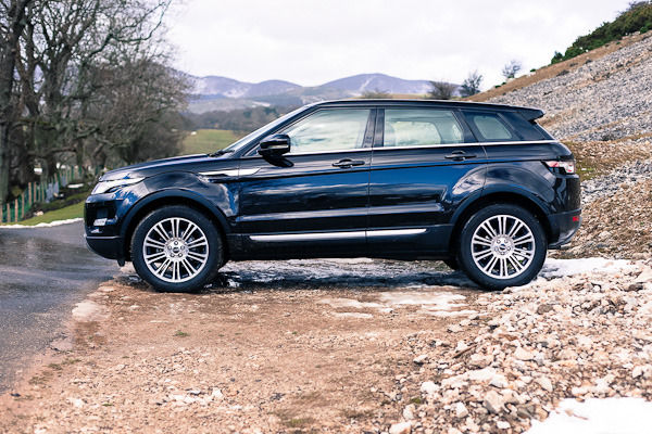 Evoque Side On