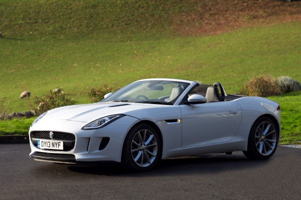 Jaguar F-Type front angle 2