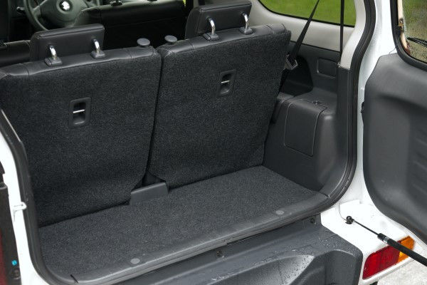 Suzuki Jimny Interior Length