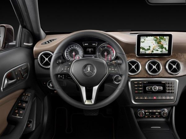 Mercedes GLA interior