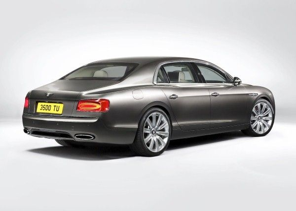 Bentley Flying Spur rear angle
