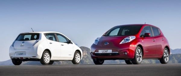 Nissan Leaf duo