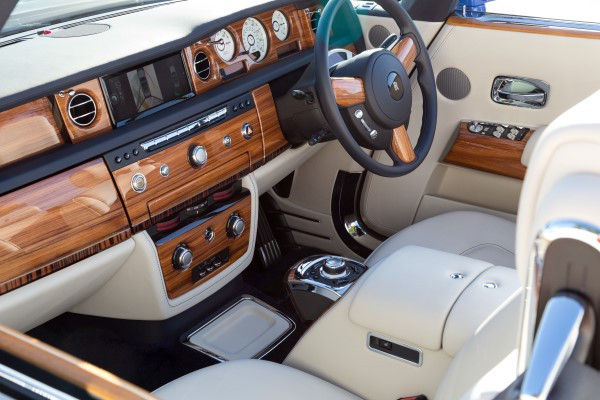 RR Phantom DHC interior