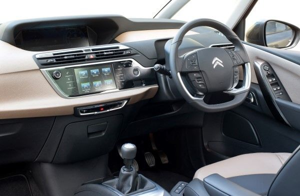 Citroen C4 Grand Picasso interior