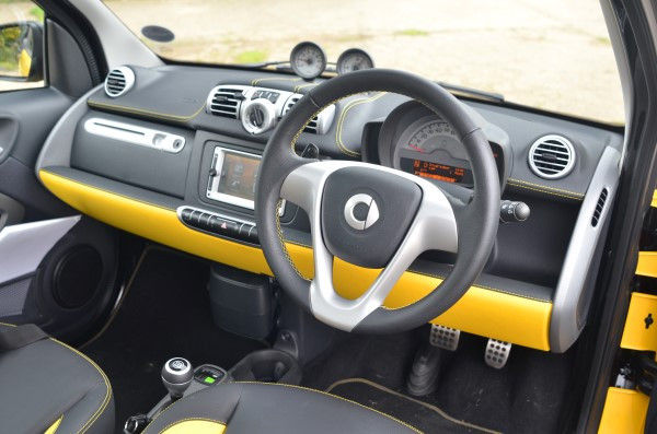 Smart Fortwo Cityflame interior