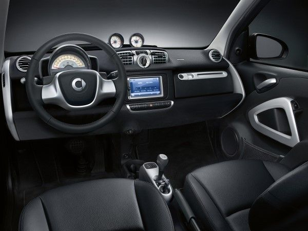 Smart Fortwo Grandstyle interior