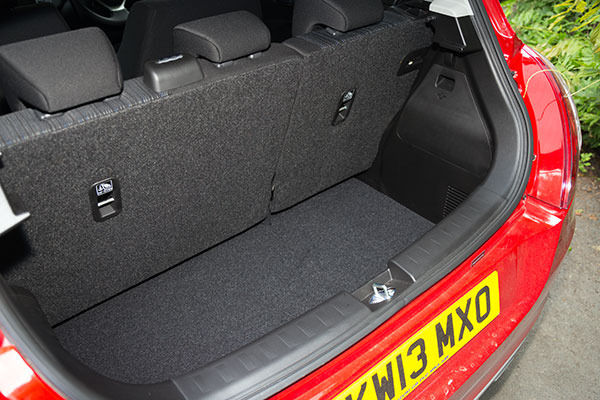 Suzuki Swift 4x4 Boot