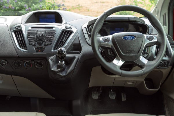 Ford Transit Custom dash