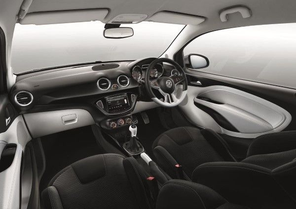 Vauxhall Adam Black interior