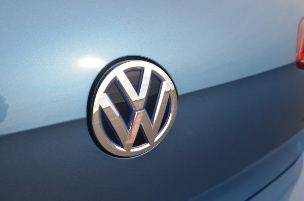 Volkswagen e-Golf boot badge