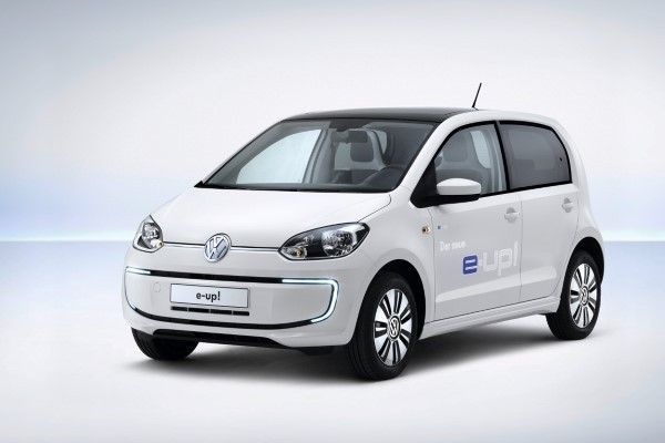 Volkswagen e-Up front angle