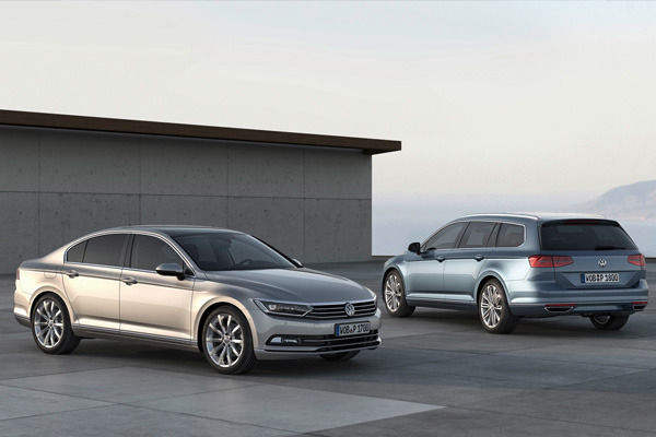 2015 VW Passat saloon and estate