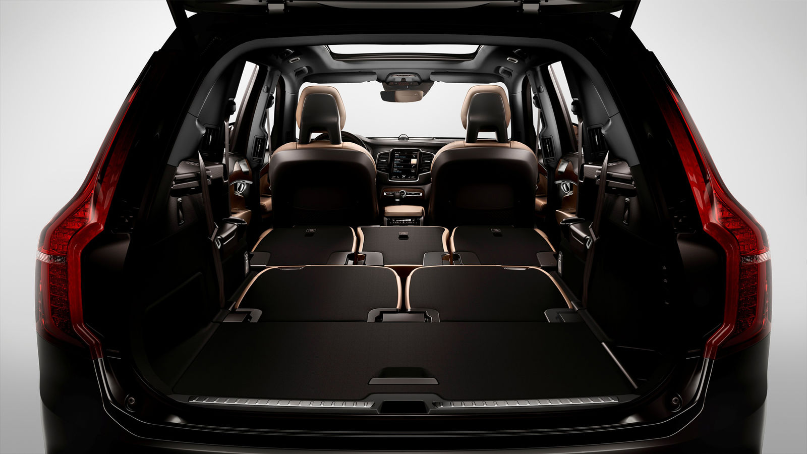 Image gallery 2016 xc90 dimensions for New model boot