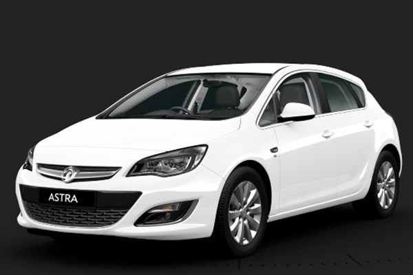 Vauxhall Astra Summit White